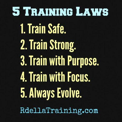 5 Training Laws