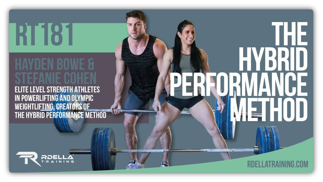 Hybrid Performance Method >> Rdellatraining Com Hayden Bowe And Stefanie Cohen The